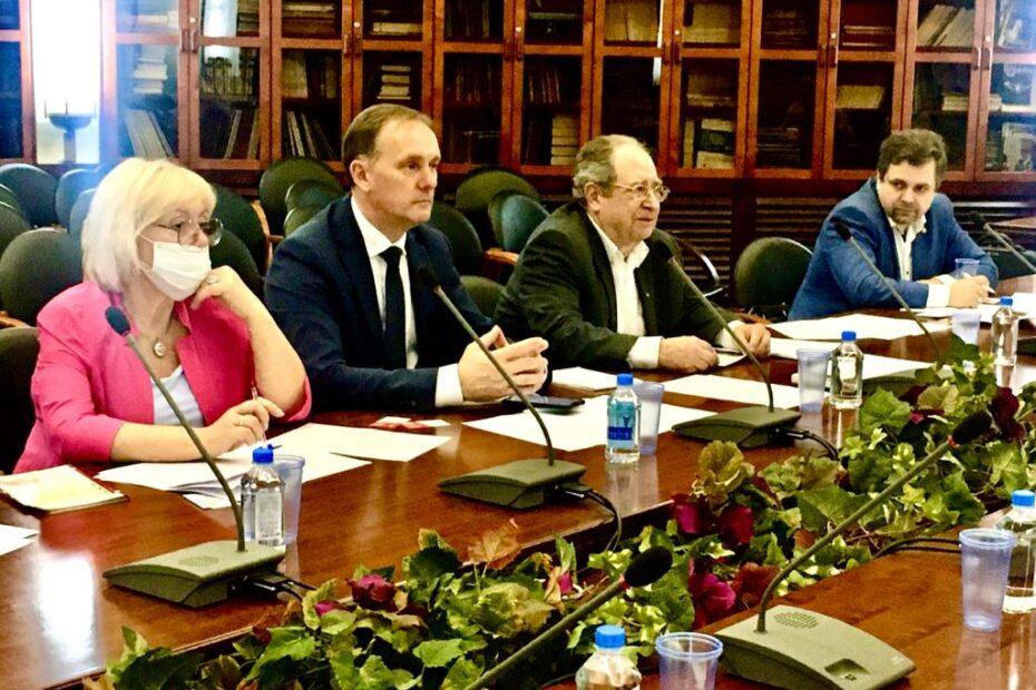 Заседание подкомитета Торгово-промышленной палаты РФ